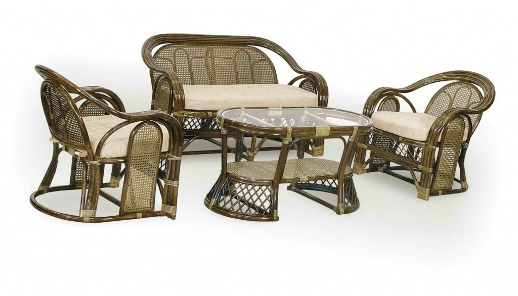 Качественная плетеная мебель из ротанга