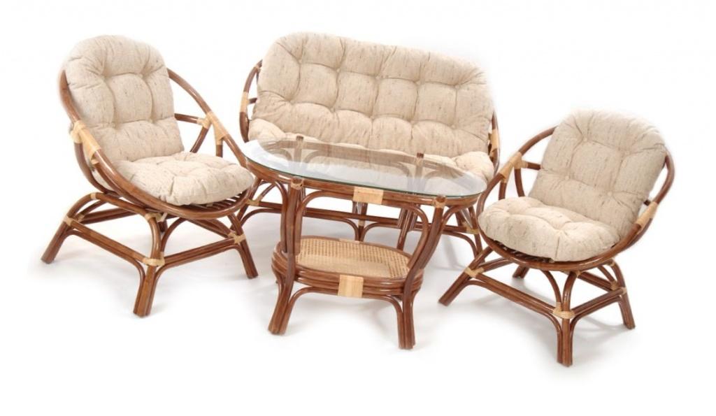 Комфортная и стильная мебель из натурального ротанга