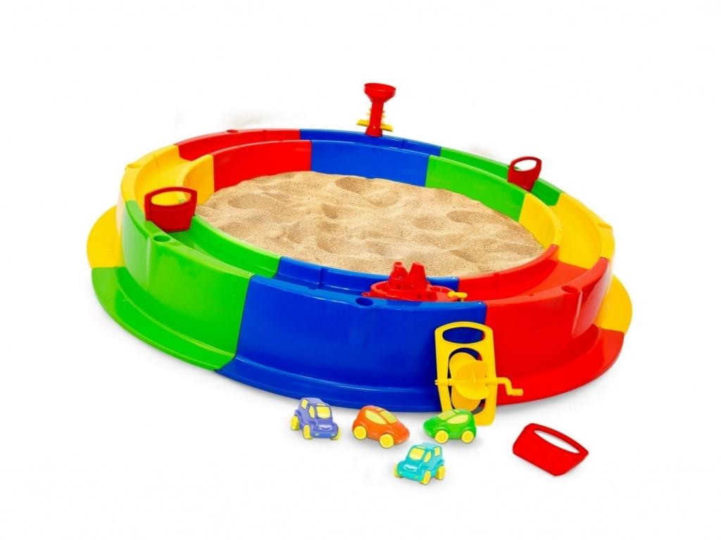 Пластиковая песочница для детей для дома и дачи