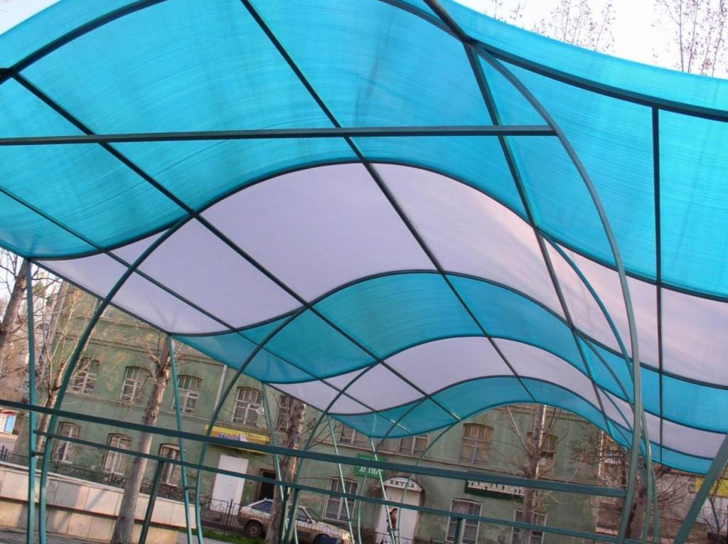 качественный профилированный поликарбонат для крыши